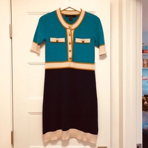 Marc Jacobs Sixties Style Cashmere Dress - XS